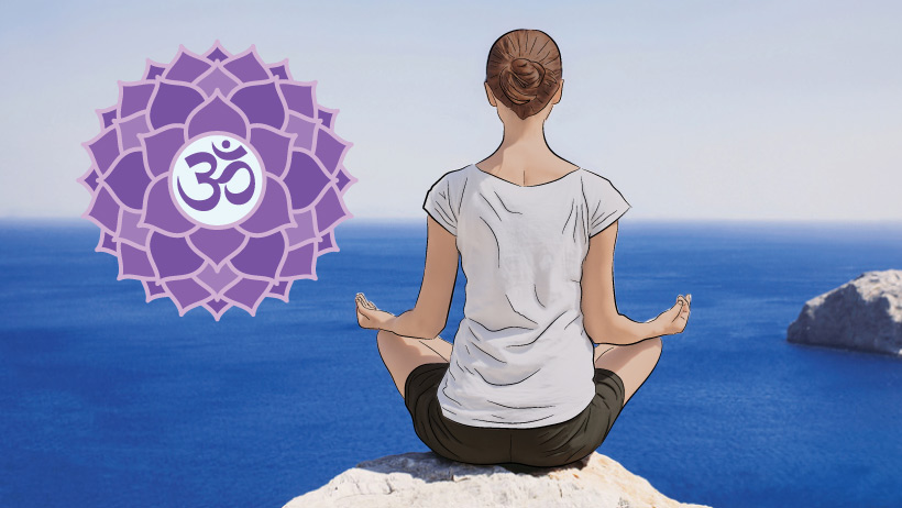 An Overview of the Crown Chakra > Damodara.com
