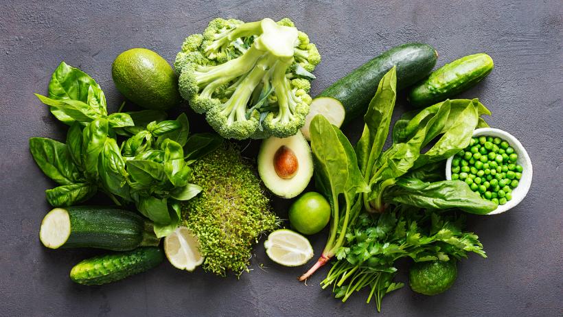 An assortment of vegetarian foods